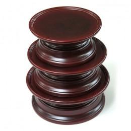 민속제기(오리목)접시1.2.3호